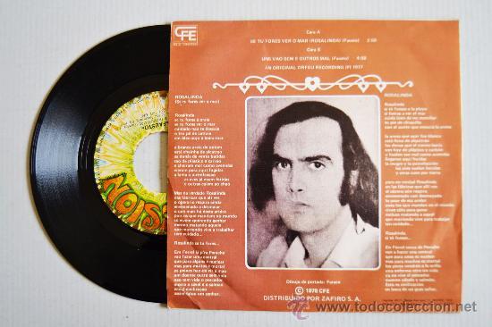 Discos de vinilo: FASTO - ROSALINDA ¡¡NUEVO!! (EXPLOSION Single 1978) ESPAÑA - Foto 2 - 34699398