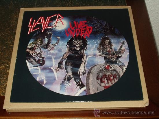 SLAYER LP LIVE UNDEAD HEAVY METAL (Música - Discos - LP Vinilo - Heavy - Metal)