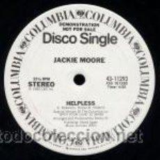 Discos de vinilo: JACKIE MOORE - HELPLESS. Lote 34703493