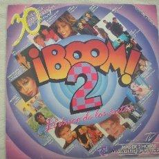 """Discos de vinilo: ¡BOOM! 2 (EL DISCO DE LOS EXITOS)QUEEN;MECANO,OLE OLE,DURAN_VINILO DOBLE 12"""" EDICION ESPAÑOLA_1986. Lote 34703505"""