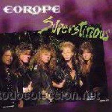 Discos de vinilo: EUROPE ?– SUPERSTITIOUS. Lote 34703769