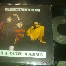 Discos de vinilo: LOTE 33368398: GABINETE CALIGARI - OLOR A CARNE QUEMADA / COMO PERDIMOS BERLIN (45 RP) 3 CIPRECES 1. Lote 34708935