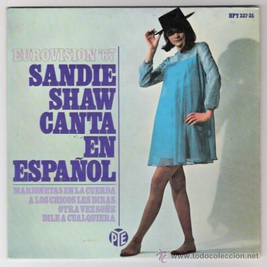 SANDIE SHAW -MARIONETAS EN LA CUERDA-EN ESPAÑOL-EUROVISION 67- (Música - Discos - Singles Vinilo - Festival de Eurovisión)