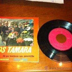 Discos de vinilo: LOS TAMARA - EP DEL 1964. Lote 34739518