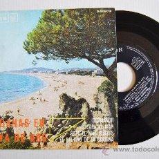 Discos de vinilo: SARDANAS EN PLAYA DE ARO - COBLA CARAVANA, BARCELONA, MONTGRINS ¡¡NUEVO!! (RCA EP 1966) ESPAÑA. Lote 34741479