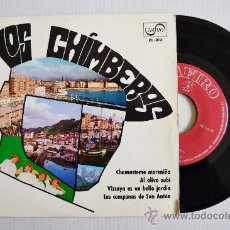 Discos de vinilo: LOS CHIMBEROS - CHAMASTEME MORENIÑA… ¡¡NUEVO!! (ZAFIRO EP 1969) ESPAÑA. Lote 34741725
