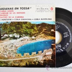 Discos de vinilo: SARDANAS EN TOSSA - COBLA MONTGRINS, CARAVANA, BARCELONA ¡¡NUEVO!! (RCA EP 1963) ESPAÑA. Lote 34741890