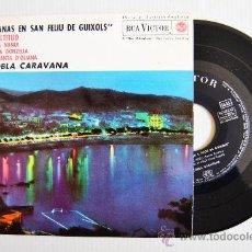 Discos de vinilo: SARDANAS EN SAN FELIU DE GUIXOLS - COBLA CARAVANA ¡¡NUEVO!! (RCA EP 1963) ESPAÑA. Lote 34741939