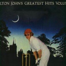Discos de vinilo: ELTON JOHN - GREATEST HITS VOLUME II. Lote 34741967