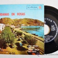 Discos de vinilo: SARDANAS EN ROSAS - COBLA BARCELONA, CARAVANA, MONTGRINS ¡¡NUEVO!! (RCA EP 1964) ESPAÑA. Lote 34742045