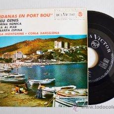 Discos de vinilo: SARDANAS EN PORT BOU - COBLA MONTGRINS, BARCELONA ¡¡NUEVO!! (RCA EP 1963) ESPAÑA. Lote 34742102