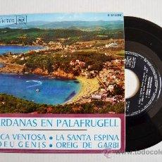 Discos de vinilo: SARDANAS EN PALAFRUGELL - COBLA BARCELONA, MONTGRINS ¡¡NUEVO!! (RCA EP 1968) ESPAÑA. Lote 34742247