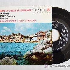 Discos de vinilo: SARDANAS EN CALELLA DE PALAFRUGELL - COBLA MONTGRINS, BARCELONA ¡¡NUEVO!! (RCA EP 1963) ESPAÑA. Lote 34742475