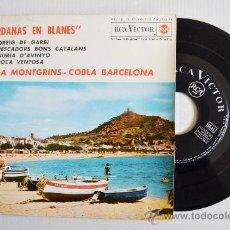 Discos de vinilo: SARDANAS EN BLANES - COBLA MONTGRINS, BARCELONA ¡¡NUEVO!! (RCA EP 1963) ESPAÑA. Lote 34742572