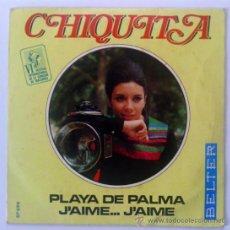 """Dischi in vinile: CHIQUITA PLAYA DE PALMA/JÀIME JÀME 7"""" SINGLE 1969 BELTER . Lote 34742615"""