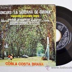 "Discos de vinilo: CONCURS ""LA SARDANA DE GIRONA""-TROFEO VICENS BOU-COBLA COSTA BRAVA ¡¡NUEVO!! (RCA EP 1966) ESPAÑA. Lote 34742771"