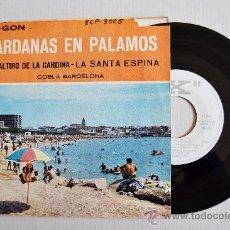 Dischi in vinile: SARDANAS EN PALAMOS Y PLAYA DE ARO - COBLA BARCELONA ¡¡NUEVO!! (X EP 1965) ESPAÑA. Lote 34742840