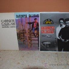 Discos de vinilo: LOTE 3 DISCOS VINILOS LP GABINETE CALIGARI