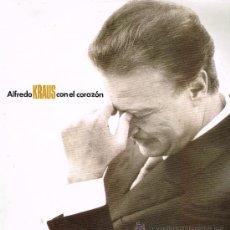 Discos de vinilo: ALFREDO KRAUS - CON EL CORAZÓN - DOBLE LP 1991. Lote 34746750