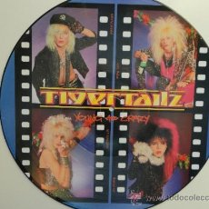 Discos de vinilo: TIGERTAILZ - YOUNG AND CRAZY- LP PICTURE DISC UK 1987 MUSIC FOR NATIONS. NEAR MINT.. Lote 34768383
