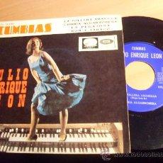 Discos de vinilo: TULIO ENRIQUE LEON ( CUMBIAS - LA POLLERA AMARILLA +3) EP ESP 1966 (EX/EX) (EP9). Lote 34792525