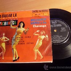 Discos de vinilo: BELISARIO LOPEZ Y SU CHARANGA ( PACHANGA- YO NO TUMBO CAÑA+3) EP RARO 33RPM 1961 (EPI19). Lote 34821402