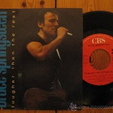 Bruce Springsteen Tougher Than The Rest Buy Vinyl Singles Pop Rock International Of The 80s At Todocoleccion 34737969