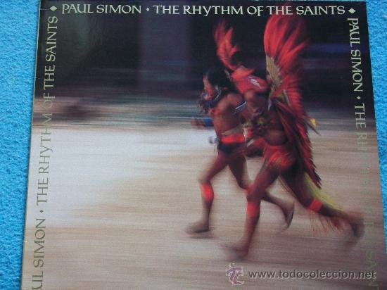 PAUL SIMON,THE RHYTHM OF THE SAINTS EDICION ALEMANA DEL 90 (Música - Discos de Vinilo - EPs - Pop - Rock Internacional de los 90 a la actualidad)