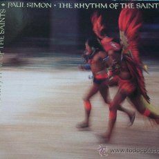 Discos de vinilo: PAUL SIMON,THE RHYTHM OF THE SAINTS EDICION ALEMANA DEL 90. Lote 233413570