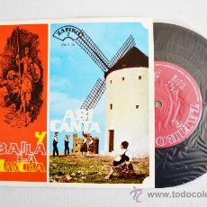 Discos de vinilo: ASI CANTA Y BAILA LA MANCHA - RONDALLA MANCHEGA DE ALCAZAR DE SAN JUAN ¡¡NUEVO!! (ZAFIRO EP 1962) ES. Lote 34749928