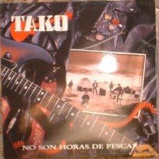 Discos de vinilo: TAKO - NO SON HORAS DE PESCAR - LP - GRABACIONES INTERFERENCIAS - 1991. Lote 101559834