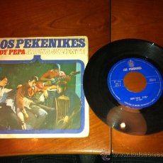 Discos de vinilo: LOS PEKENIKES - LADY PEPA/ARENA CALIENTE -SINGLE 1966-. Lote 34751164
