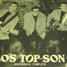 Discos de vinilo: LOS TOP SON / BRUNO LOMAS - DISCOGRAFIA COMPLETA - LP - ALLIGATOR 1984 SPAIN / SUS INICIOS. Lote 34751914
