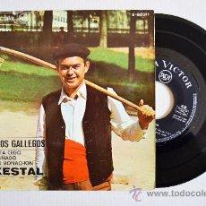 Discos de vinilo: O XESTAL - CUENTOS GALLEGOS/RECRUTA CEGO… ¡¡NUEVO!! (RCA EP 1967) ESPAÑA. Lote 34753668