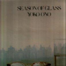 Discos de vinilo: LP YOKO ONO - SEASON OF GLASS . Lote 34755029
