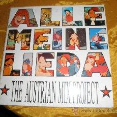 Discos de vinilo: THE AUSTRALIAN MIX PROJECT. WICKIE, HEIDI, PINOCCHIO. EDICION ALEMANA 1990. Lote 34757215