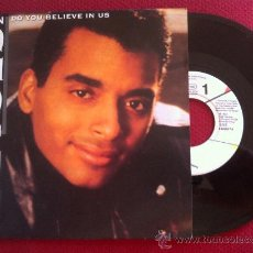 "Disques de vinyle: 7"" SINGLE - JON SECADA - DO YOU BELIEVE IN US - PROMO. Lote 34759071"