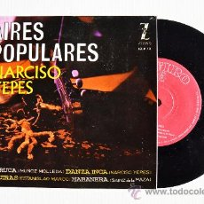 Discos de vinilo: NARCISO YEPES - AIRES POPULARES FARRUCA… ¡¡NUEVO!! (ZAFIRO EP 1962) ESPAÑA. Lote 38088808