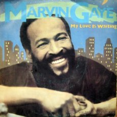 Discos de vinilo: MARVIN GAYE MY LOVE IS WAITING / ROCKIN´AFTER MIDNIGHT. SINGLE 1982 PROMOCIONAL. Lote 34765916