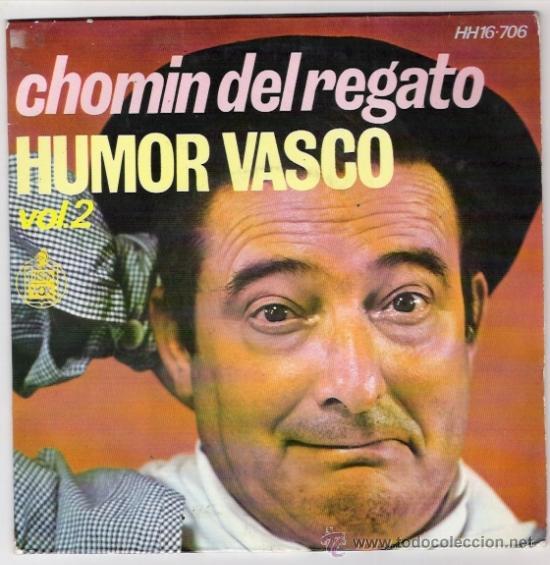 CHOMIN DEL REGATO-HUMOR VASCO.VOL.2 (Música - Discos de Vinilo - EPs - Otros estilos)