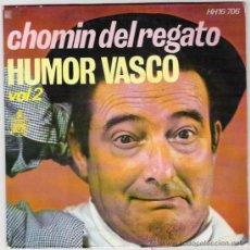 Discos de vinilo: CHOMIN DEL REGATO-HUMOR VASCO.VOL.2. Lote 34766132