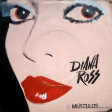 Discos de vinilo: DIANA ROSS. MUSCLES - I AM ME. SINGLE 1982 SILK ELECTRIC. PROMOCIONAL. Lote 34770876