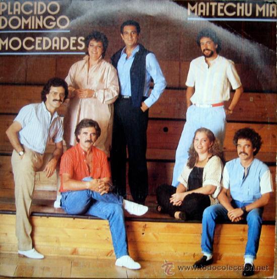 MOCEDADES Y PLACIDO DOMINGO. MAITECHU MIA. SINGLE 1983 PROMOCIONAL (Música - Discos - Singles Vinilo - Otros estilos)