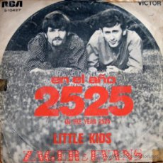 Discos de vinilo: ZAGER & EVANS. IN THE YEAR 2525 / LITTLE KIDS. SINGLE 84. Lote 34780972
