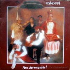 Discos de vinilo: OSKORRI. EZPATADANTZA / AMOROS GAIXOA. SINGLE 1984 . ELKAR. Lote 34782669