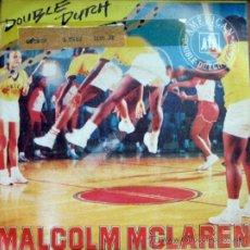 Discos de vinilo: MALCOLM MCLAREN. DOUBLE DUTCH / SHE´S LOOKING LIKE A HOBO. SINGLE 1983 CHARISMA LABEL. Lote 34783650