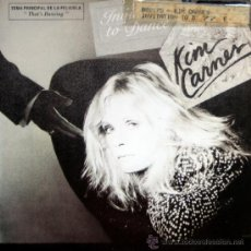 Discos de vinilo: KIM CARNES. INVITATION TO DANCE / BREAKTHROUGH. SINGLE 1985 EMI. Lote 34784008
