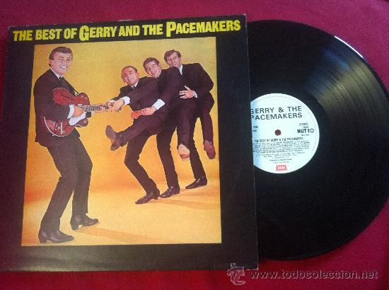 LP GERRY AND THE PACEMAKERS-THE BEST OF-UK (Música - Discos - LP Vinilo - Pop - Rock - Extranjero de los 70)