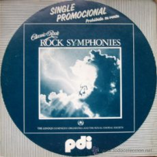 Discos de vinilo: CLASSIC ROCK-ROCK SYMPHONIES. CHARIOTS OF FIRE / BORN TO RUN. SINGLE 1983 PDI. Lote 34786065