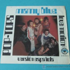 Discos de vinilo: POP-TOPS. MAMY BLUE. LOVE MOTION. EXPLOSION. Lote 34789167